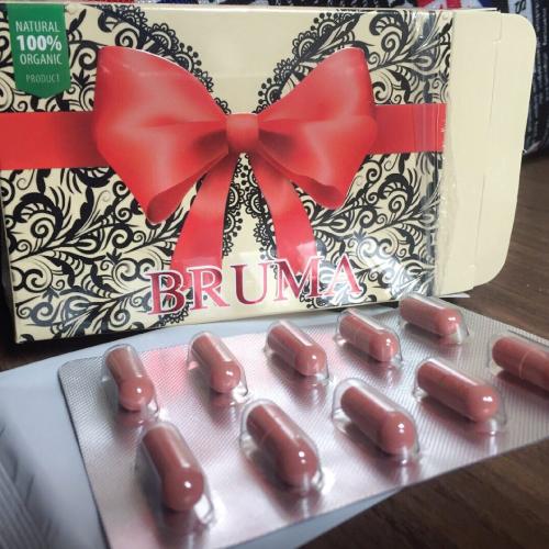 047 ออกแบบกล่อง Bruma ผลิตภัณฑ์เสริมอาหาร อกฟูรูฟิต