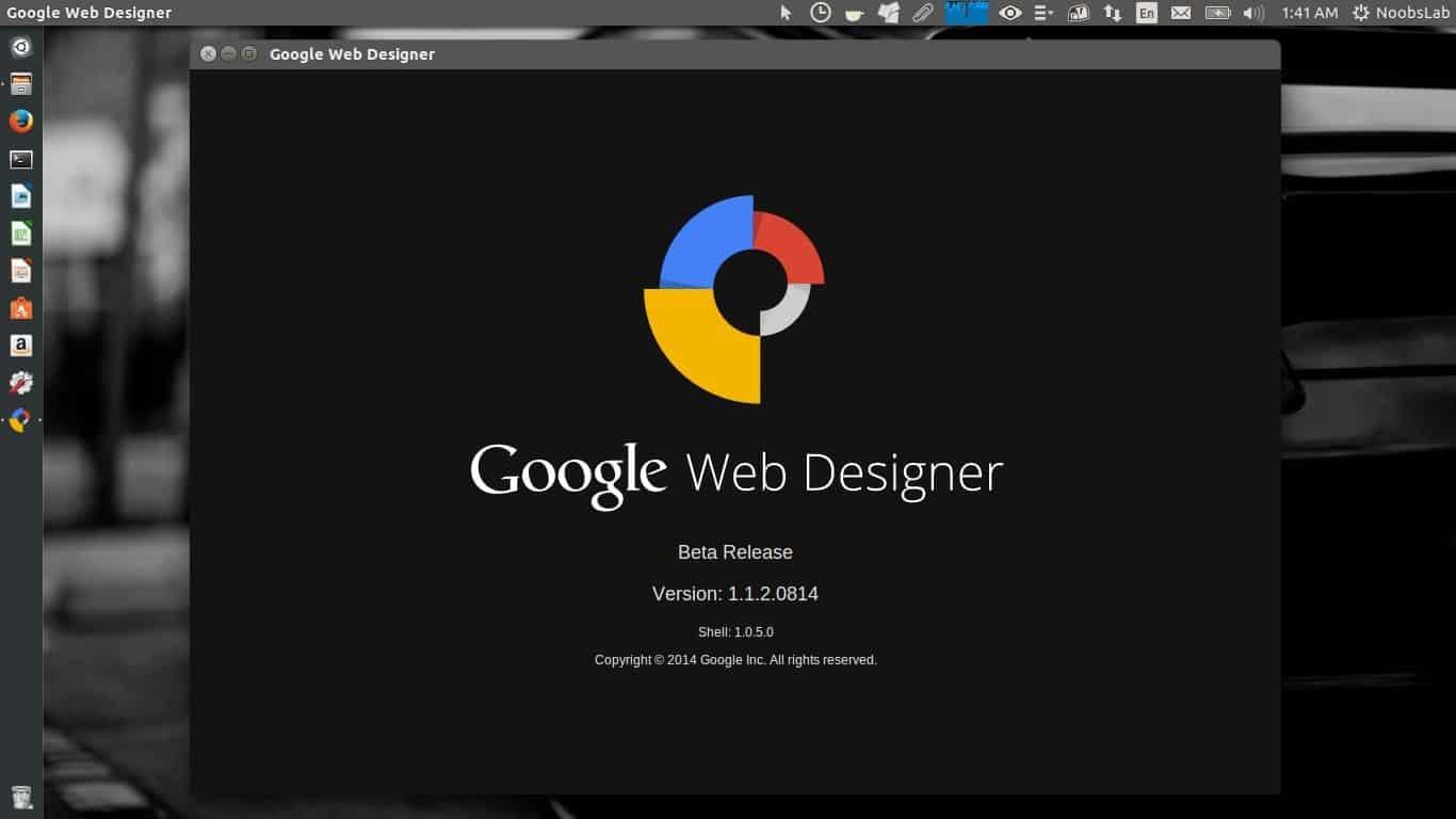 โปรแกรมGoogle Web Designer