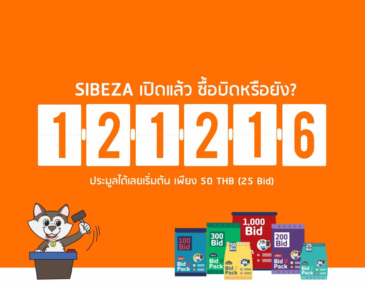 ผลงานออกแบบ banner เว็บไซต์ SIBEZA.COM