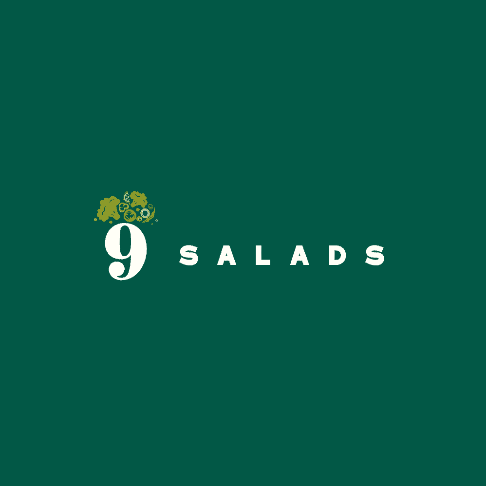 ออกแบบโลโก้ 9 SALADS