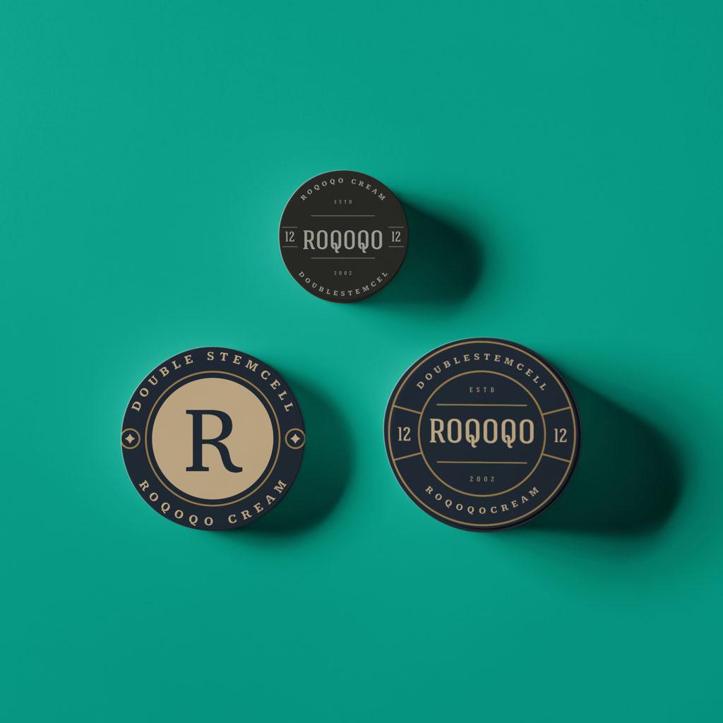 ออกแบบ Packaging 'ROQOQO' – ผลิตภัณฑ์บำรุงผิวหน้า