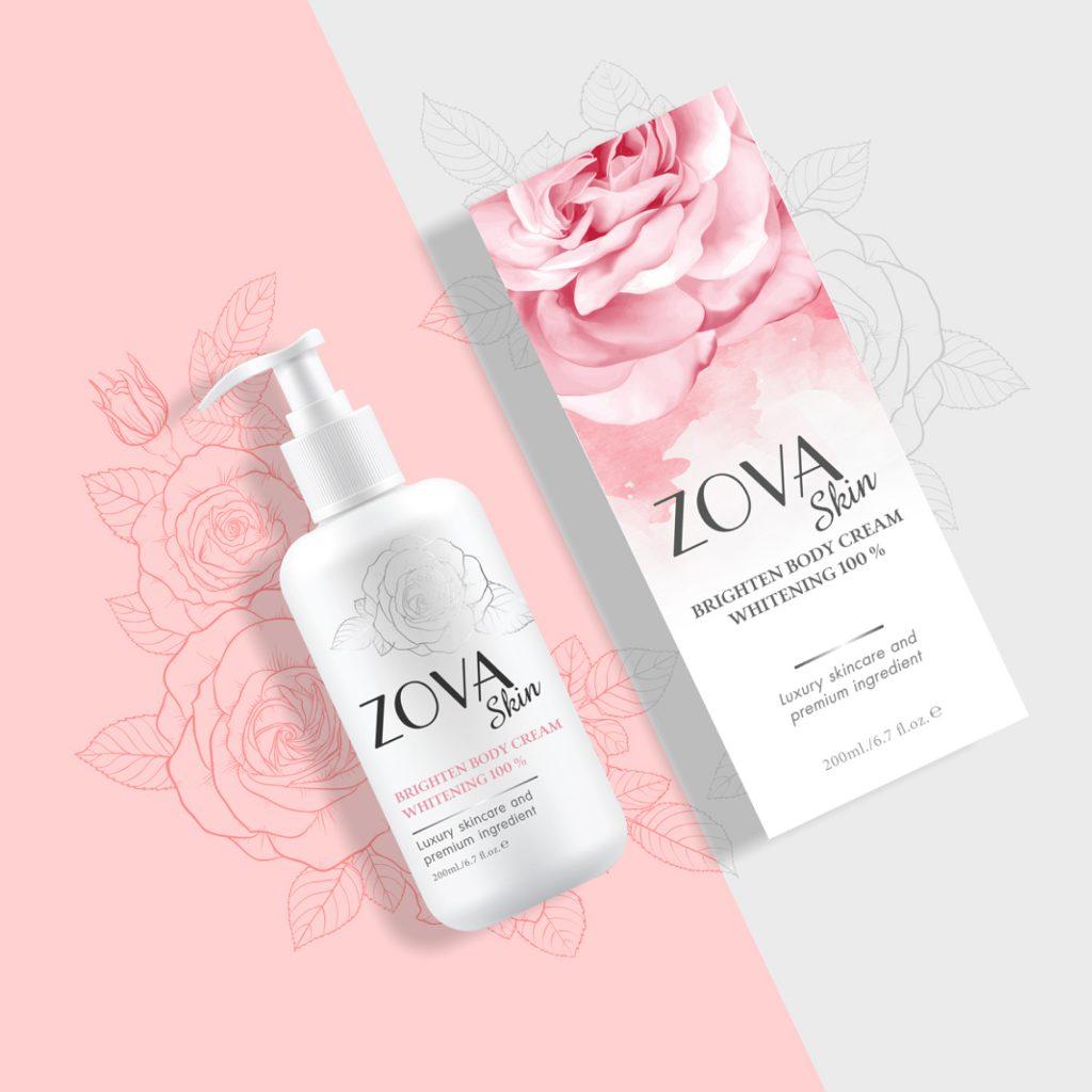 Packaging design ZOVA Skin