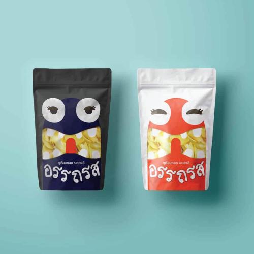 Packaging  'ATAROS' – ทุเรียนทอด
