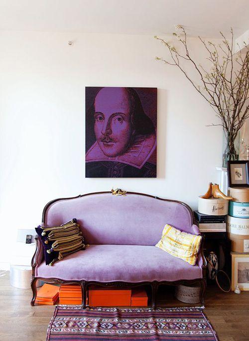 Regards et Maisons: Radiant Orchid - Pantone Couleur de l'année 2014