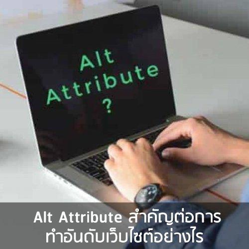 Untitled 37 Alt Attribute สำคัญต่อการทำอันดับเว็บไซต์อย่างไร