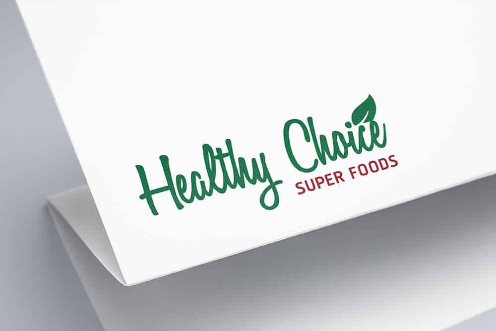 ผลงานออกแบบ Healthy Choice
