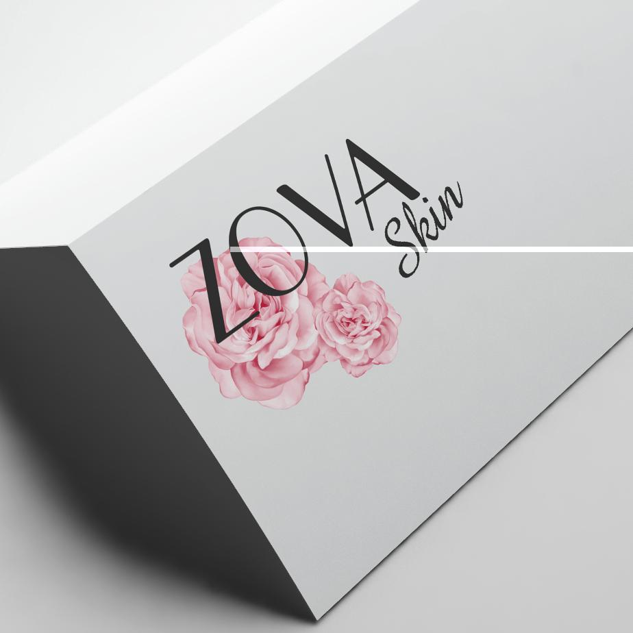 Logo Design ZOVA SKIN