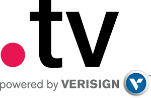 tv domain name logo 2 รับจดโดเมน