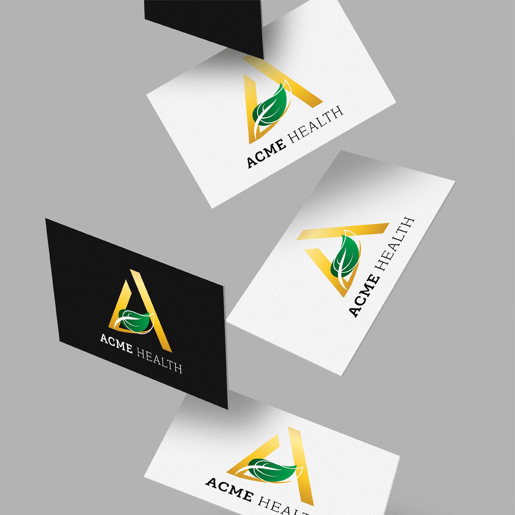 รับออกแบบนามบัตร รับออกแบบโลโก้