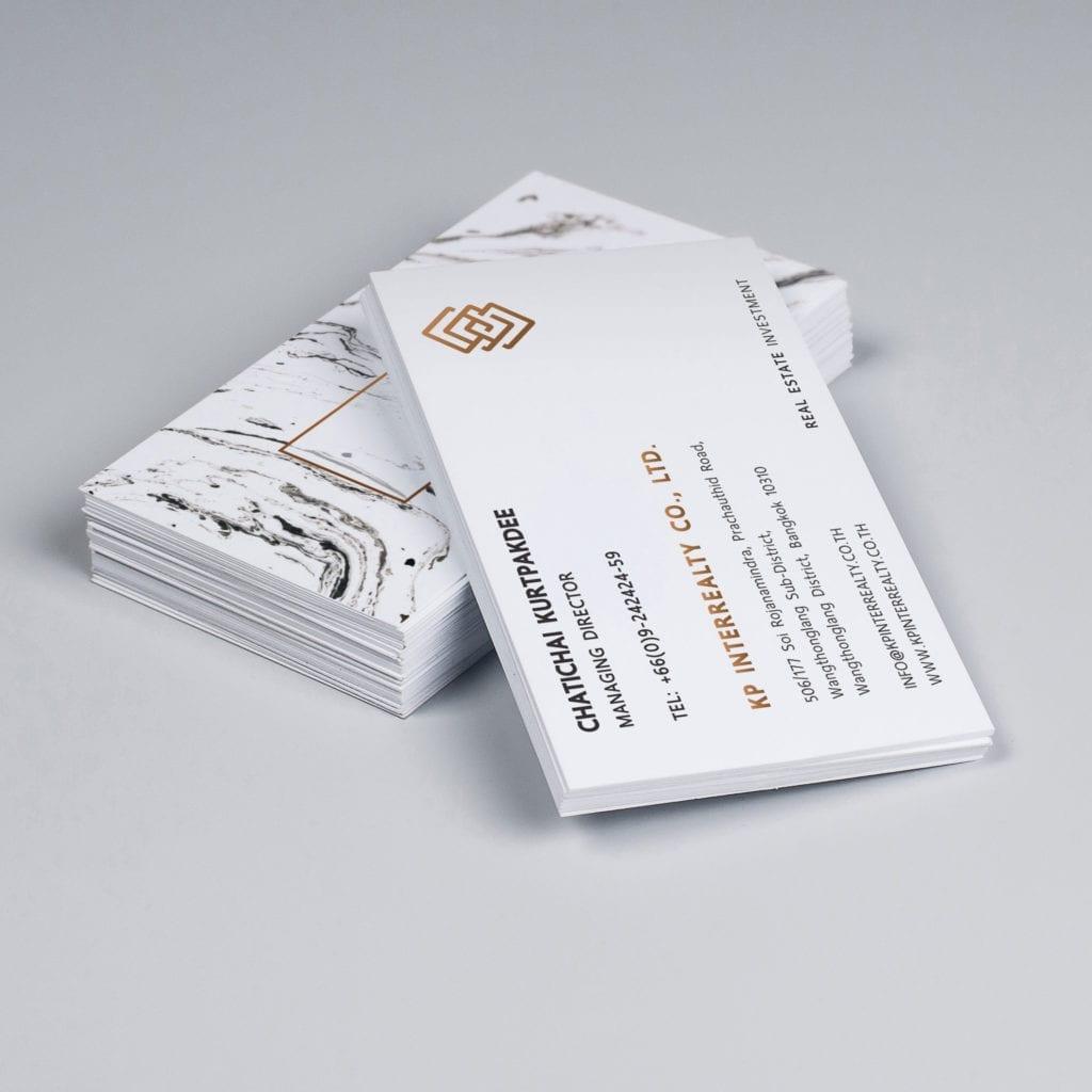 ผลงานออกแบบโลโก้ KP INTERREALTY CO.,LTD.