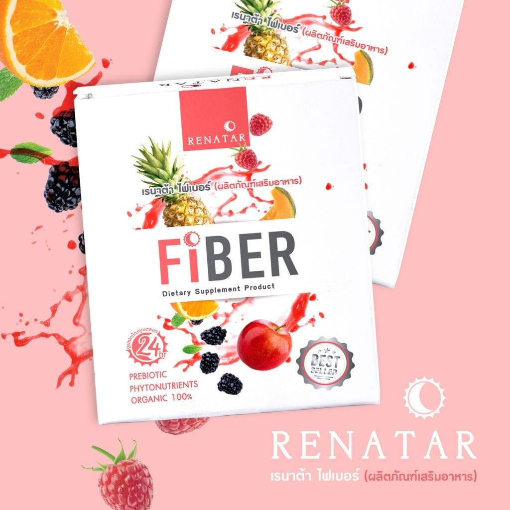 ผลงานออกแบบบรรจุภัณฑ์ Renatar Fiber